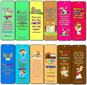 CallÿonÿtheÿNameÿofÿtheÿLordÿMemory Bookmarks (60-Pack) - Perfect Giveaways for Sunday School, VBS and Children's Ministry