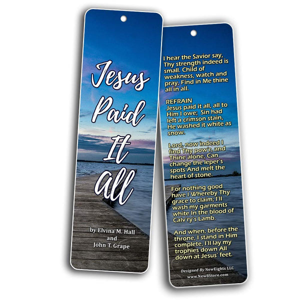 Hymn Bookmarks Series 2 - I Surrender All
