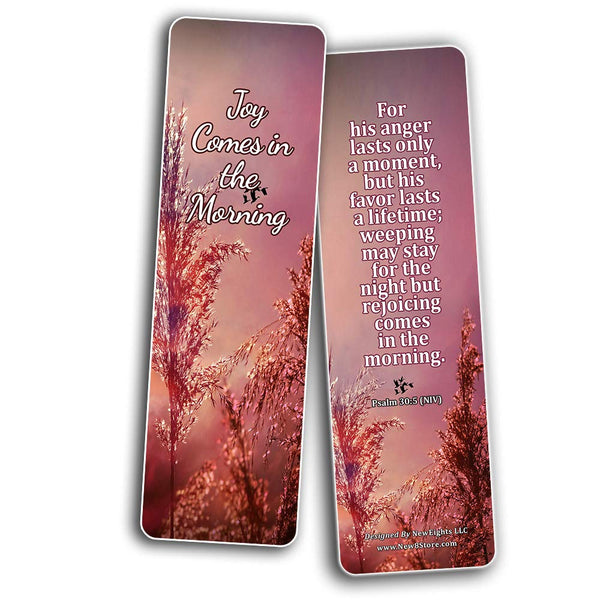Bible Verses Bookmarks for When Your Faith is Feeble