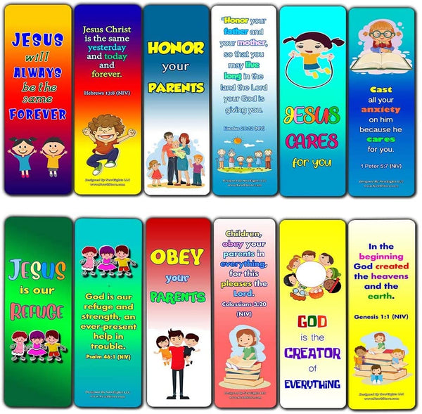 Bible Verses Every Kid Should Know Bookmarks (60-Pack)