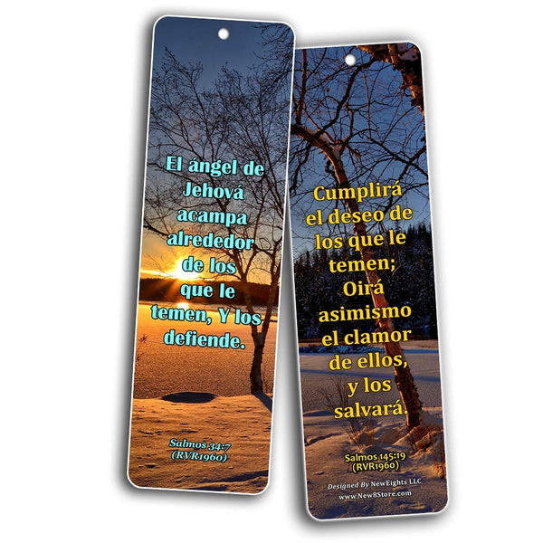 Spanish Scriptures Bookmarks - Fear of The Lord