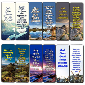 Top Bible Verses on God's Blessing and Favor On Our Lives Bookmarks