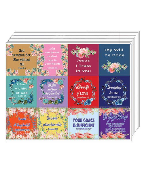 NewEights God is Within Her Stickers (10 Sheets)