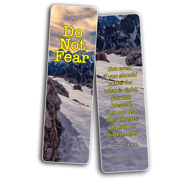 Bible Verses About Anxiety Bookmarks