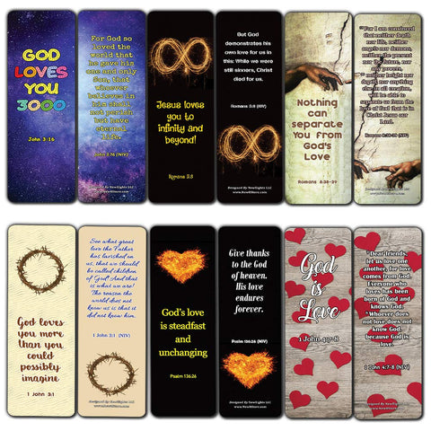Christian Love You 3000 Bookmarks