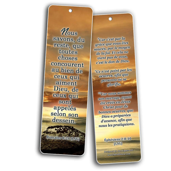 French Most Highlighted Bible Verse Bookmark (French - Louis Segond (LSG))