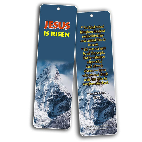Top Bible Verses About The Gospel of Jesus Christ Bookmarks