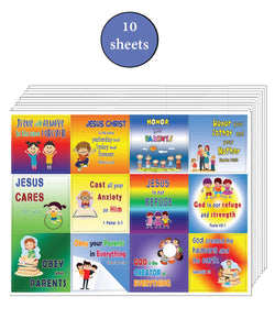 Bible Verses Every Kid Should Know Stickers