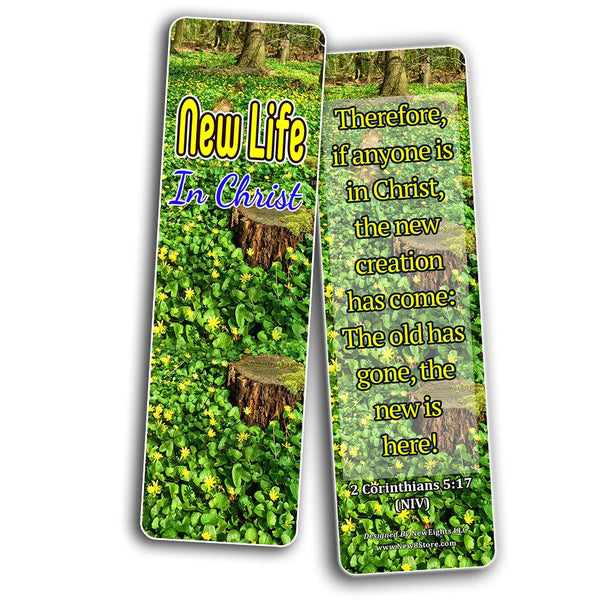 Jesus Our Redeemer Scriptures Bookmarks