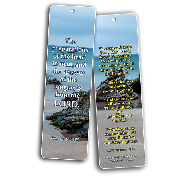 KJV Religious Bookmarks - Bible Verses About God's Will