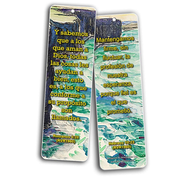 Spanish Scriptures Bookmarks to Encourage Your Men and Women (RVR1960)