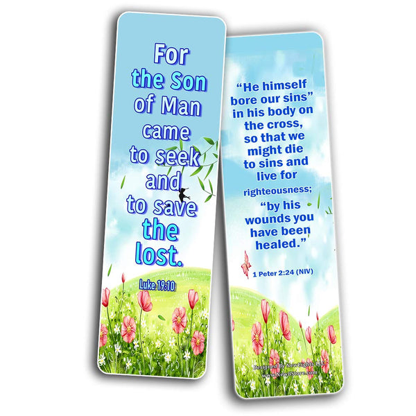 Jesus Has Risen Religious Bookmarks Cards for Kids