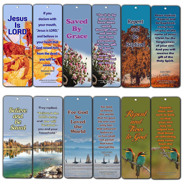 Bible Verses About the True Meaning of Salvation Bookmarks