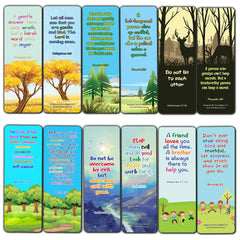 Bible Bookmarks for kids - Character Building Series 3