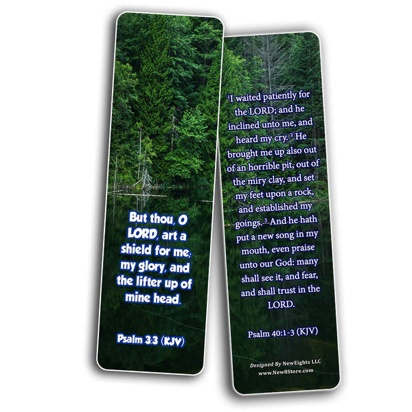 Encouraging scriptures for those overcoming Depression Bookmarks