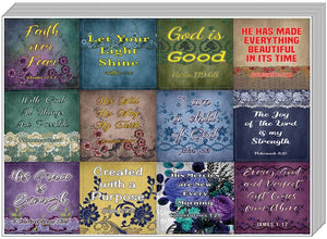 Vintage Religious Stickers for Women Series 2 (10-Sheet) - Great Gift For Women