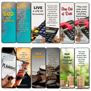 Christian Bookmarks for Biblical Financial Principles Series 1