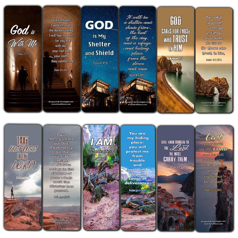 Christian Bookmarks Scriptures to Help You Survive The Storms of Life