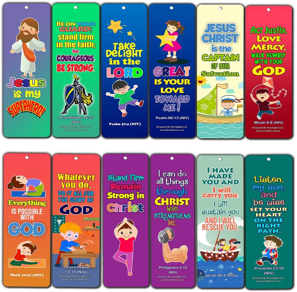 Jesus is My Superhero Bookmarks (30-Pack)