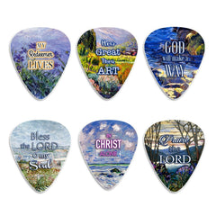 Christian Guitar Picks for Gospel Music - In Christ Alone (12-Pack)