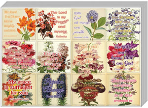 Christian Stickers for Women Series 4 (5-Sheet) - Great Variety Colorful Stickers