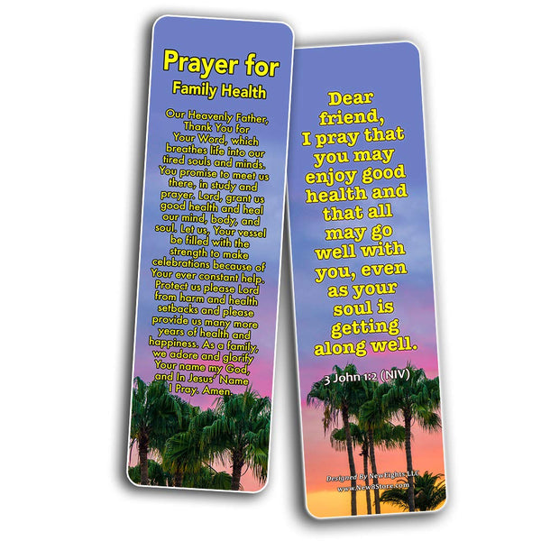 Prayers for Family Bookmarks