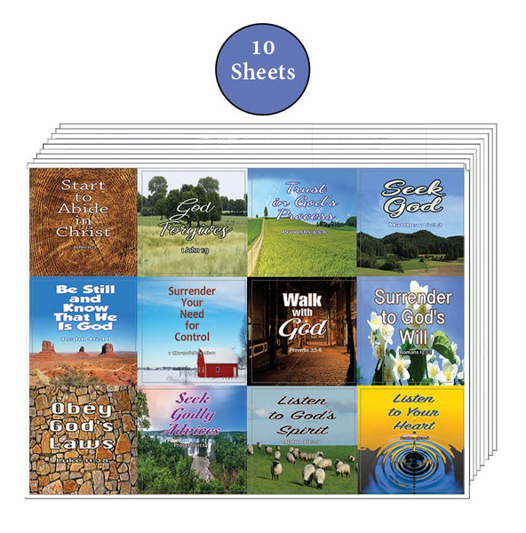 God's Will for Your Life Christian Stickers