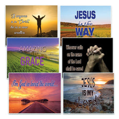SALVATION CHRISTIAN POSTCARDS