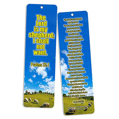 Christian Bookmarks - Psalm 23 KJV (30-Pack)