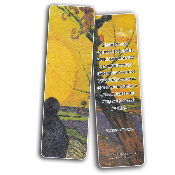 Spanish Wonderful Magnificent God Bible Verses Bookmarks