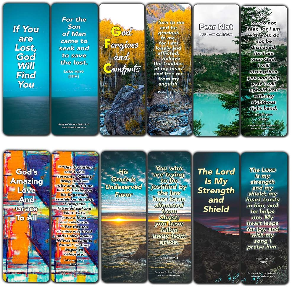 Bible Verses Bookmarks About Controlling Our Emotions for When Your Faith Is Feeble For Those Dealing With Disappointment (60-Pack) (Bookmarks When You Feel Empty And Lost (60-Pack))