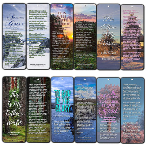 Hymn Bookmarks Series 1 - Amazing Grace