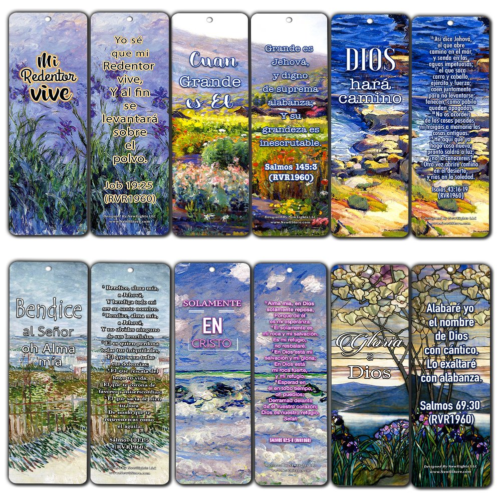 Spanish Christian Bookmarks (12-Pack) - in Christ Alone