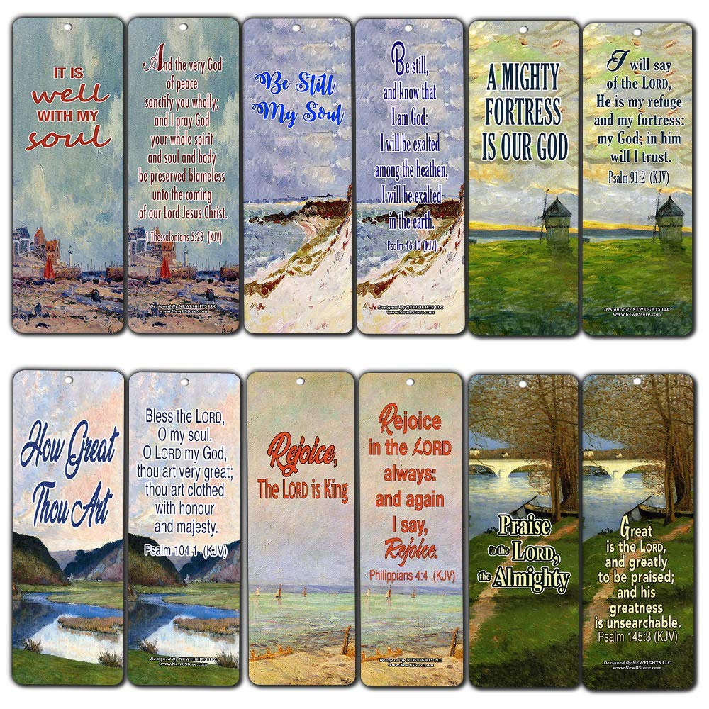 Be Still My Soul Christian Bookmarks New8store