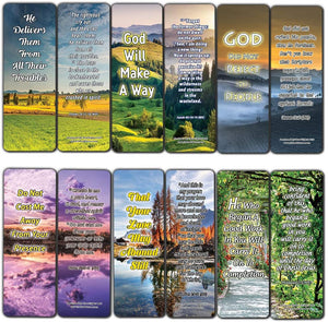 God's Not Done With You Bible Bookmarks (60-Pack) - Perfect Giftaway for Sunday School and Ministries