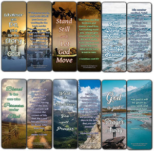 Encouraging Scriptures Bookmarks About Rewards For Obeying God (60-Pack)