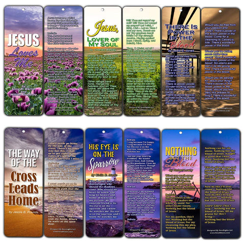 Hymn Bookmarks Series 3 - Jesus Loves Me
