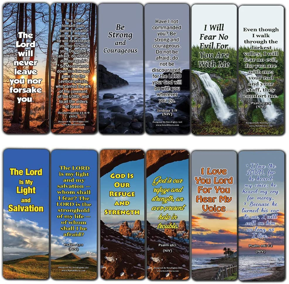 Bible Verses Bookmarks About Controlling Our Emotions for When Your Faith Is Feeble For Those Dealing With Disappointment (30-Pack) (Bible Verses to Comfort You (30-Pack))