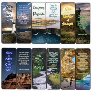 Scriptures Bookmarks - Bible Verses about Strength