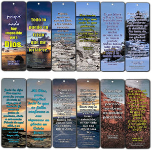 Spanish Bible Scriptures About Righteousness (30 Pack) - Spanish Bible Texts that Helps Us Become Righteous