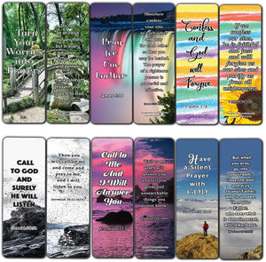 Favorite Prayer Bible Promises Bookmarks (60-Pack) - Perfect Gift Away for Sunday Schools