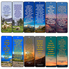 Bible Scriptures about God's Creation Bookmarks