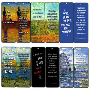 Christian Bible Bookmarks - Be Strong NIV (12-Pack) - Awesome Stuffing Stocker for Ministry