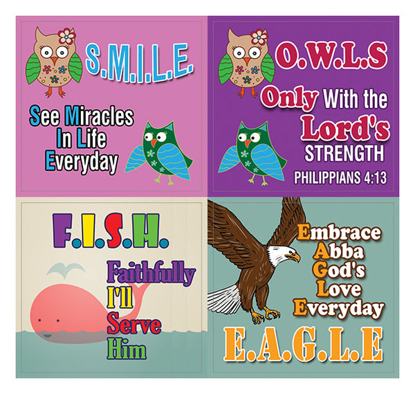 Depend on God Stickers (20 sheets)