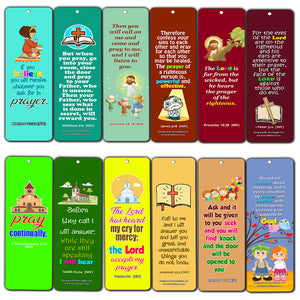 Easy Bible Scriptures for Kids - Prayer