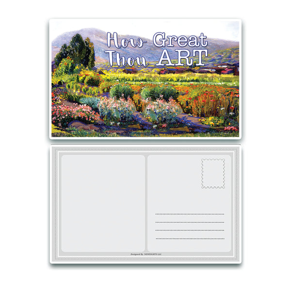 Christian Bible Verse Postcards Cards - In Christ Alone (30-Pack) - Christian Bible Theme Collection & Gift with Inspirational, Motivational, Encouraging Scripture based Messages