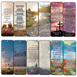 Bookmarks with Popular Inspirational Bible Verses - Handy Collection of Bible Verses For Women
