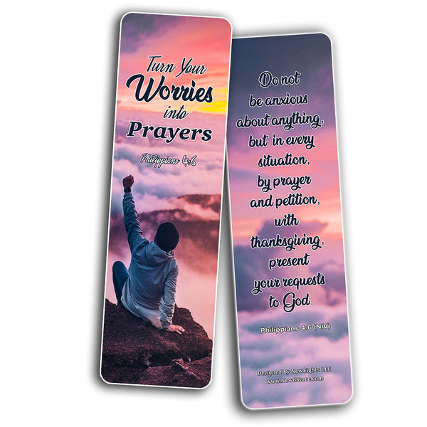 Religious Bookmarks About Waiting on God to Answer Prayer (30 Pack) - Handy Reminder That Reminds Us That God Is Working In our Waiting