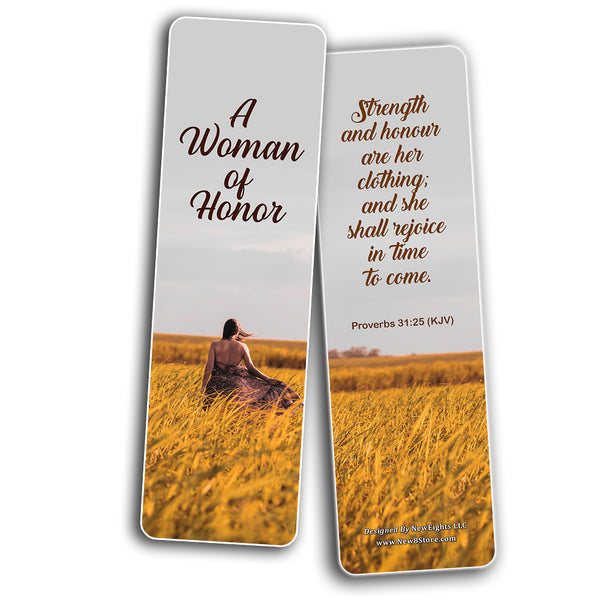 Popular Bible Verses for Women Bookmarks KJV (30-Pack) - Great Collections of KJV Bible Verses