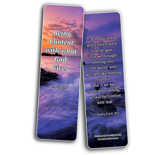 Bible verses about Getting Rich And Wealthy Bookmarks (30-Pack) - Handy Reminder About Getting Rich and Wealthy